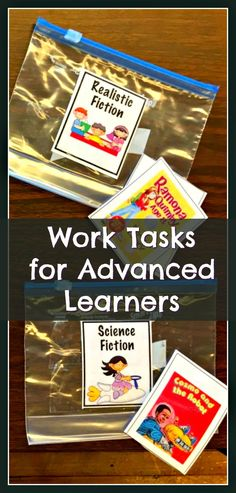 Advanced work tasks for higher functioning students will help keep them engaged & challenged. From Matching Abbreviations to Sorting Countries & Continents, we have many posted on our blog & TpT for you to grab from.  Get your kiddos working! From theautismhelper.com