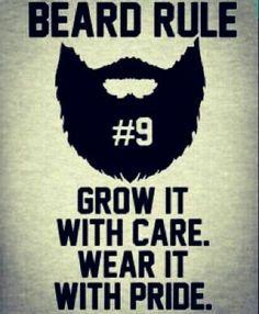 Beard rule#9