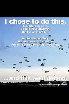 Paratroopers.