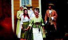 Avainpiika Brita onnellisena. 1700-luku/-08 #RuukinAvain