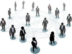 Business People Network Connection Nodes Stock Vector - Illustration of collaboration, people: 25434806 Marketing Plan, Online Marketing, Social Media Marketing, Social Networks, Business Marketing, Person Icon, Job Hunting Tips, Social Media Training, Silhouette Vector