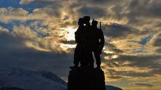 Commando Memorial at Spean Bridge.    by John Paul Peebles