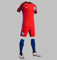 England Euro 2016 Away Kit Released