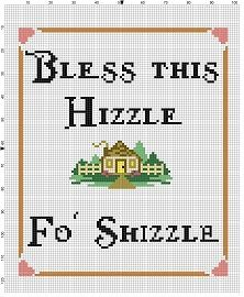 Bless this Hizzle Fo' Shizzle  Housewarming by SnarkyArtCompany