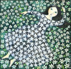 Pinzellades al món: Flors en primavera! / Flowers in spring! Tachisme, Pop Art, Graffiti, Illustration Art, Illustrations, Art Graphique, Art For Art Sake, Whimsical Art, Art Plastique