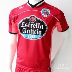 Club Deportivo Lugo 1ª equipación oficial portero Temporada 2013/14 de la marca CDLU