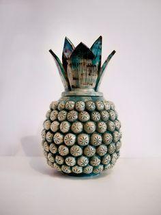 Ceramic Pineapple - Malota - Mar Hernandez - www.malota.es