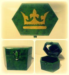 #Queen #Princess #MDFBox #ArtsAndCrafts