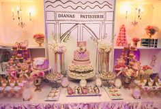 French / Parisian Sweet 16 Party Ideas   Photo 8 of 55