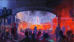 Syd Mead. Blade Runner Concept Art | Doctor Ojiplático