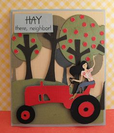 My Craft Spot: Hay there, neighbor!