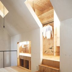 Decoration Ideas : Japanese Minimalism The Ant House Walk In Closet  Interior