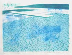 David Hockney litograph