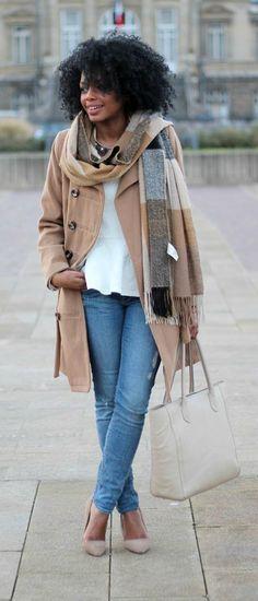 ecstasymodels:    Maxi Camel Coat  Keshia