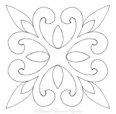 53 Ideas Machine Quilting Templates Applique Patterns For 2019 Quilting Stencils, Quilting Templates, Stencil Patterns, Longarm Quilting, Stencil Designs, Applique Patterns, Free Motion Quilting, Applique Quilts, Quilt Patterns