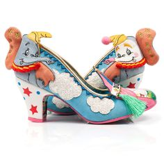 Now's your big chance, step into the big top and hear the roar of the crowd! Fab Shoes, Crazy Shoes, Cute Shoes, Me Too Shoes, Disney Lines, Dumbo Ears, Disney Couple Shirts, Emo Dresses, Party Dresses