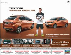 This Ad is collection of Sample Ad at Advert Gallery. Car Banner, Tata Motors, Car Advertising, Car Rental, Driving Test, Jaipur, Sporty, The Incredibles, Marketing