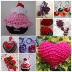 Maria Chike: Chaveiros de Crochê