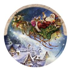 Thirstystone Drink Coaster Set Santas Sleigh *** Click image for more details. (This is an affiliate link) Christmas Pictures, Christmas Art, Vintage Christmas, Christmas Decorations, Christmas Ornaments, Sandstone Coasters, Santa Sleigh, Coaster Furniture, Drink Coasters