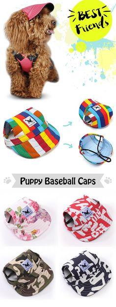 Puppy baseball caps Buy this pin at Newchic!