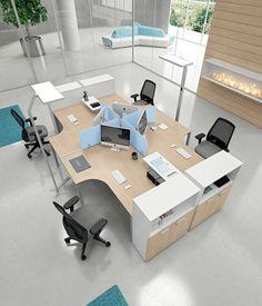 Open Office Design, Open Space Office, Industrial Office Design, Corporate Office Design, Bureau Design, Workspace Design, Office Workspace, Office Furniture Design, Office Interior Design