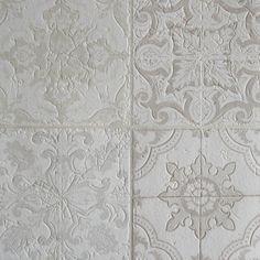 Morocchino Piastrella Grigio, Beige, Crema & Bianco - Rotolo Completo: Amazon.it: Casa e cucina
