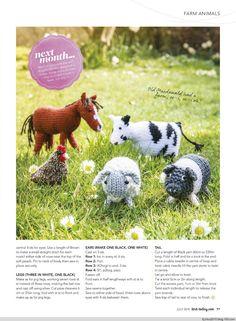 Knit Today No7 2014 - 紫苏 - 紫苏的博客 Animal Knitting Patterns, Christmas Knitting Patterns, Stuffed Animal Patterns, Knit Patterns, Bag Patterns, Simply Knitting, Free Knitting, Baby Knitting, Knitting Stitches