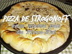 Como fazer a Melhor Pizza de Strogonoff do Mundo!!
