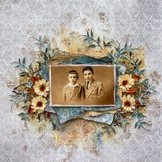 Pascale_Brothers  love the colors and vintage photo
