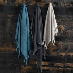Pack of 2 MALTA Towels in Supima Cotton / Mix with patterned towel?