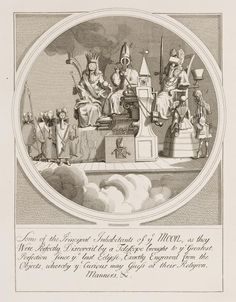 William Hogarth - Royalty, Episcopacy, and Law, 1724