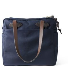 Filson Zipped Tote Bag - Navy
