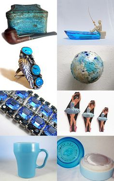 A Treasury of the Blues by Sue on Etsy--Pinned with TreasuryPin.com