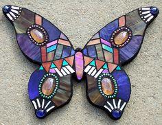 """Butterlicious""  Mosaic by Susan Walden"