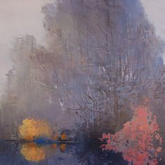 "Randall David Tipton - ""Non-traditional landscapes in watermedia and oil; psychological quality and unusual use of color."""