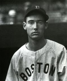 """The Rookie"" - Ted Williams, 1939, Boston Red Sox, by Charles Conlon"