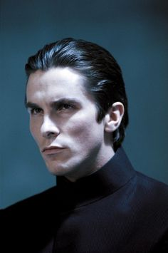 Christian Bale as John Preston in 'Equilibrium' Portrait Inspiration, Character Inspiration, Chris Bale, Best Movies List, Double Menton, Portrait Photography Men, Actrices Hollywood, Model Face, Hollywood Actor