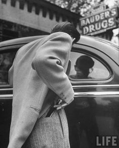 Photo by Nina Leen, 1945...love old black and white photography