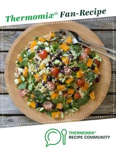 Warm mediterranean couscous salad by Thermomix in Australia. A Thermomix <sup>®</sup> recipe in the category Main dishes - vegetarian on www.recipecommunity.com.au, the Thermomix <sup>®</sup> Community.