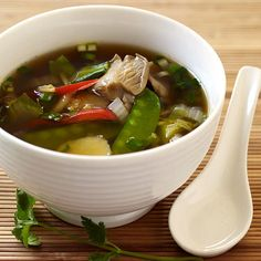 Asian-Inspired Vegetable Soup | Recipes | Weight Watchers