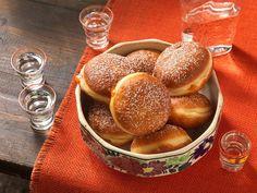 Faschingskrapfen selbermachen Cupcakes, Pretzel Bites, Hamburger, Muffins, Sweets, Bread, Baking, Breakfast, Food