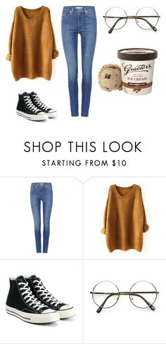 """Fashion"" by merve-hotkid on Polyvore featuring Levi's and Converse"