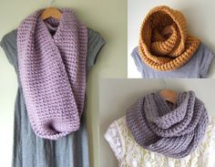 Oversized Cowl Scarf by DottieQ on Etsy