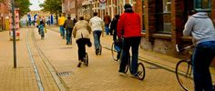The cities of Groningen and Assen have 55% and 40% of their daily trips done by cycling (Photo credit: FaceMePls)