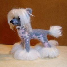 This listing is for one miniature custom pet portrait sculpture which has been lovingly handmade with needle felting. Every portrait of your dog or cat is a specially made sculpture which is truly one of a kind. Your dog is my inspiration ! I use photographs of your real dog or cat to create a miniature sculpture that reflects the charm and expression of your beloved pet. The finished size is from 4 to 5 inches depending on the pose. Photos of your pet can be emailed to me. I need to see…