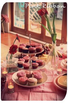 Pink Ribbon breakfast by OhCarito