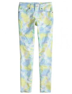 Printed Super Skinny Jeans | Girls Super Skinny Jeans | Shop Justice on Wanelo