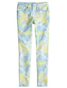 Printed Super Skinny Jeans | Girls Super Skinny Jeans | Shop Justice on Wanelo