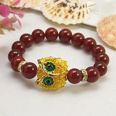 PandaHall Jewelry—Gemstone Bracelets with Alloy Rhinestone Beads | PandaHall Beads Jewelry Blog