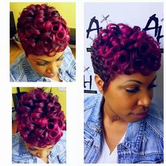 Man this style makes me miss my pixie cut